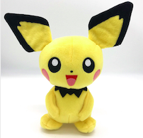 plush poke man (Pikachu)