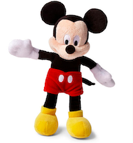 stuffed animal toys Mickey Mouse