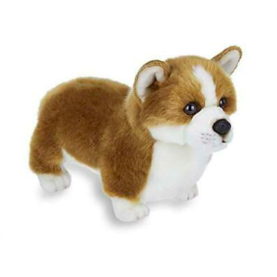 dark brown Plush Corgi