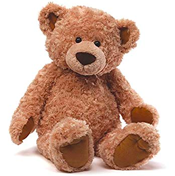 dark brown plush teddy bear