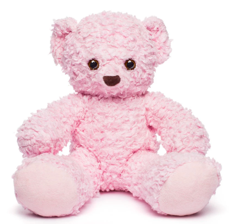 pink plush teddy bear