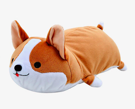 Plush Smoko Toasty Corgi pillow