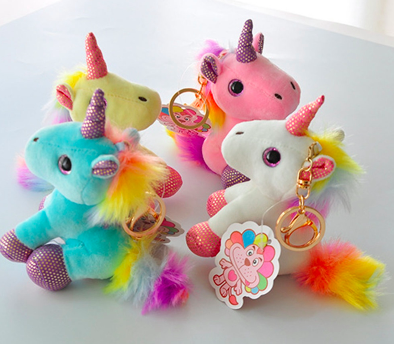 stuffed unicorn animal toys show