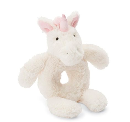 Plush unicorn baby toys
