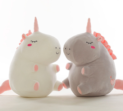 stuffed fat unicorn toys