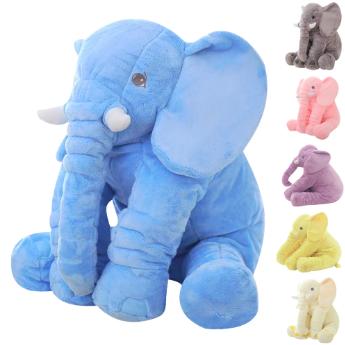 huge plush elephant toys five color can choose