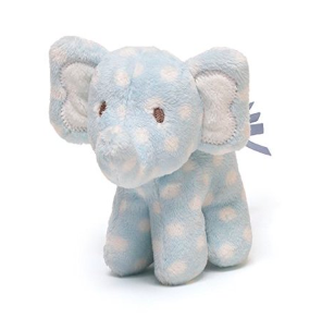 light blue plush elephant toys