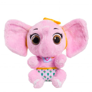 pink plush baby elephant toys