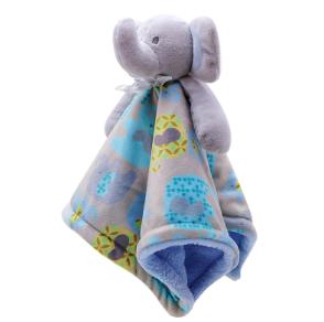 plush elephant baby towel 01