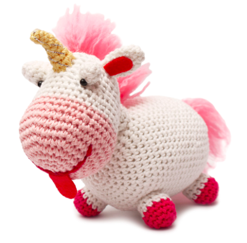stuffed Unicorn crochet toys